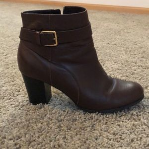Cole Haan Leather Booties Size 9